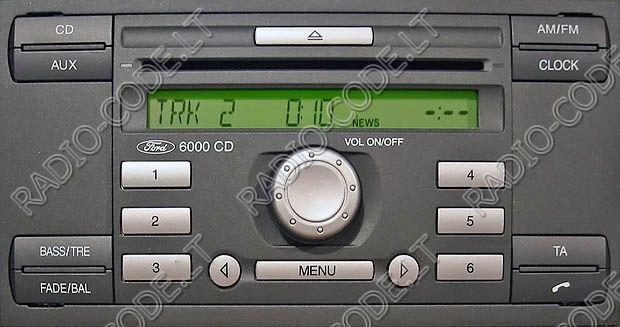Www Radio Code Lt Ford 6